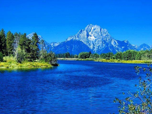 16. Grand Teton Ulusal Parkı - Amerika: