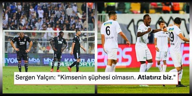 Eksik Kartal İzmir'den Çıkamadı! Beşiktaş'ı Yenen Altay Ligde Liderliği Devraldı