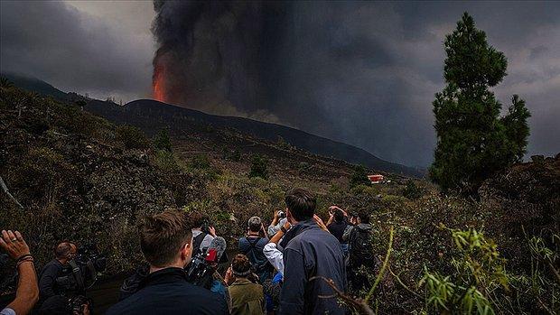 Kanarya Adaları'ndaki Yanardağda Patlamaların Şiddeti Arttı, Uçuşlar Durduruldu