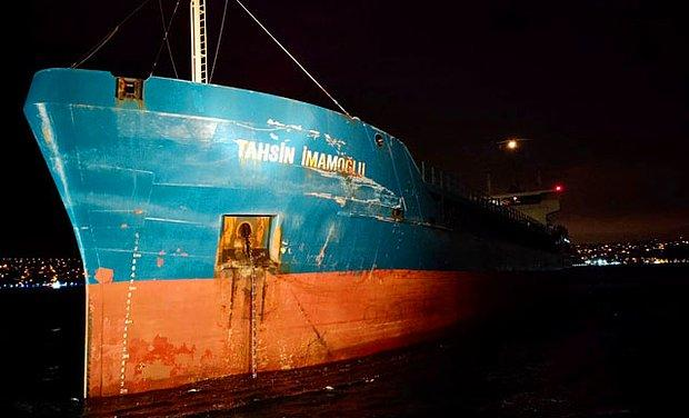 İstanbul Boğazı'nda Peş Peşe İki Gemi Kazası