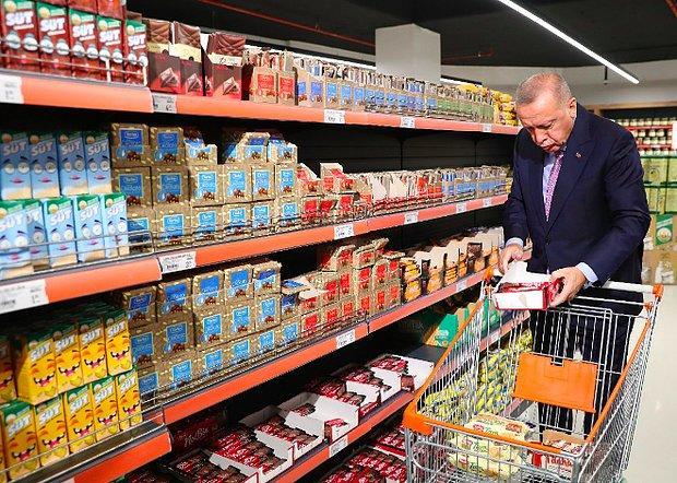 Erdoğan'ın Alışveriş Sepeti İki Yılda Ne Kadar Zamlandı?