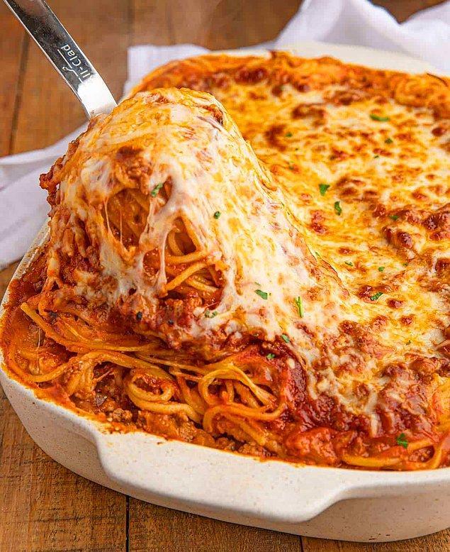 4. Spaghetti Lazanya Tarifi