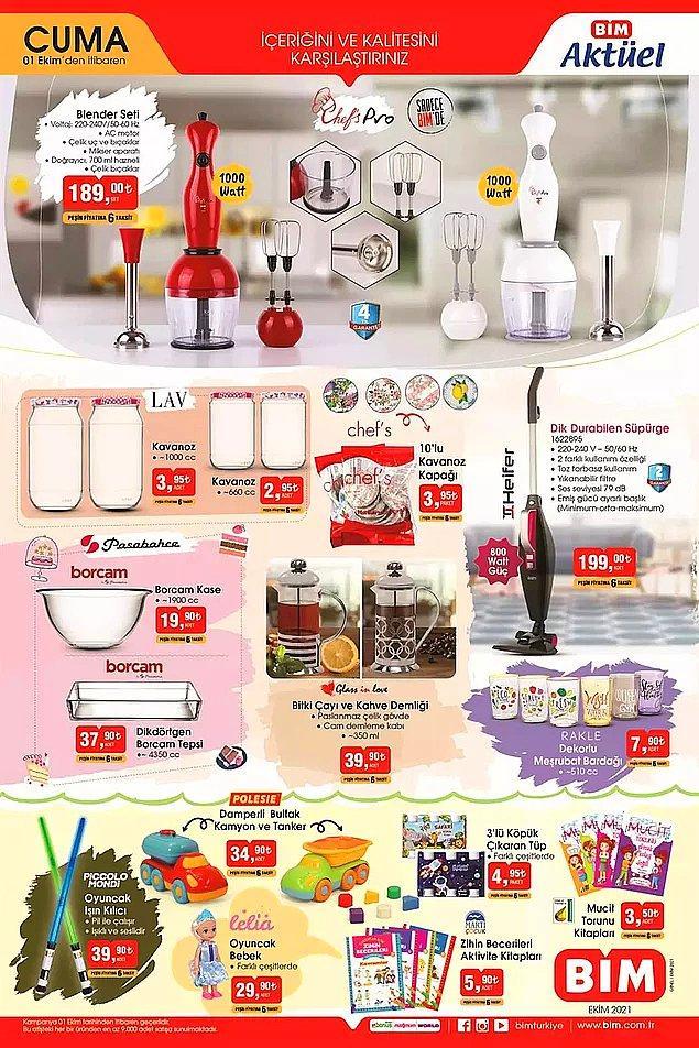 Mutfak gereçleri ve küçük ev aletleri;