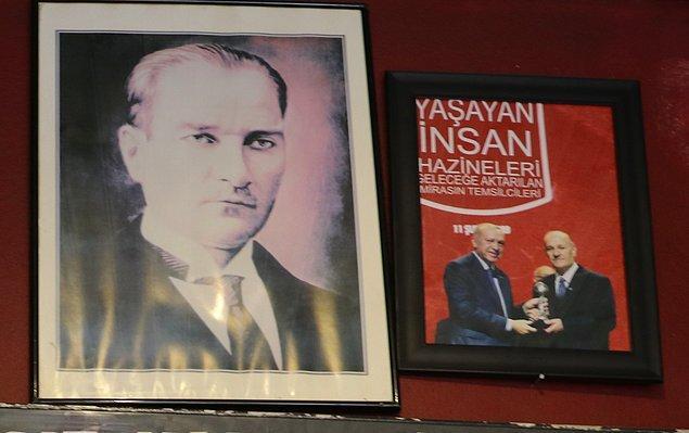 Ödülünü Erdoğan vermişti