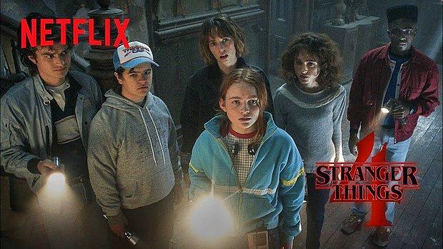 Stranger Things'in 4. Sezonundan Yeni Tanıtım Videosu Geldi
