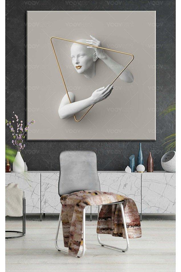 8. Tek bir tablo ile salonunuzun havasını değiştirmek mümkün!