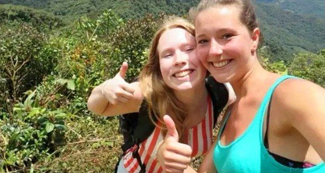 5. Kris Kremers ve Lisanne Froon isimli iki genç kadının esrarengiz kayboluşlarından önce çektikleri son fotoğrafları: