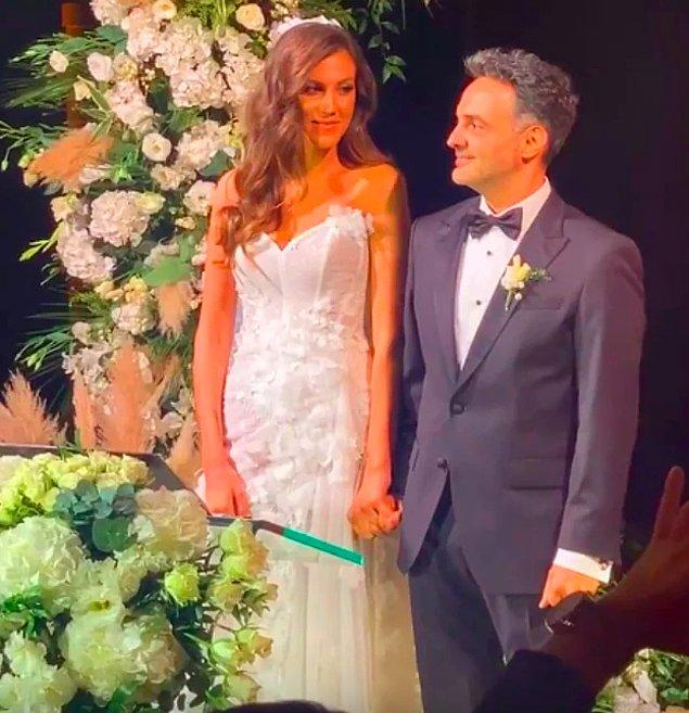 9. Geçtiğimiz haziran ayında nişanlanan ünlü influencer Melodi Elbirliler ile Arda Türkmen, muhteşem bir düğünle dünyaevine girdi.