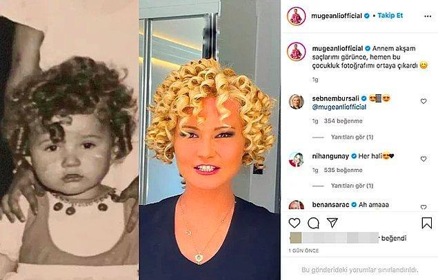 11. Müge Anlı, yeni açtığı Instagram hesabından çocukluk fotoğrafını paylaştı. Fotoğraf beğeni yağmuruna tutuldu.