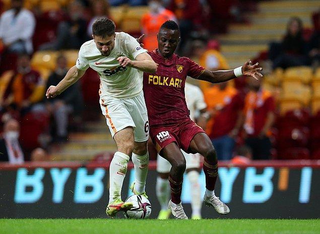 Süper Lig'in 7. haftasında Galatasaray, Göztepe'yi konuk etti.