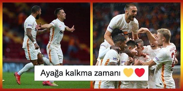 Cimbom 4 Maç Sonra Kazandı! Galatasaray Geriye Düştüğü Maçta Göztepe'yi Devirmeyi Başardı