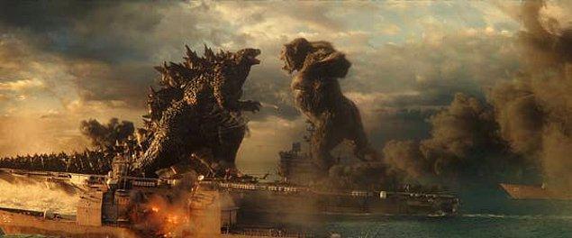 7. Godzilla vs. Kong