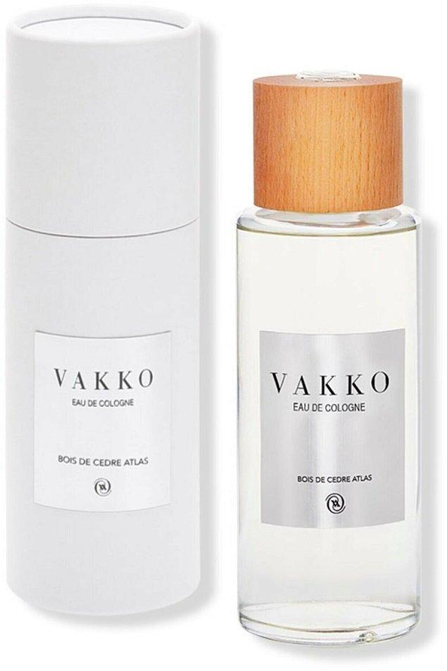 3. Vakko şıklığını hayatın her anına taşımak isteyenler için: Vakko kolonya, sedir ağacının eşsiz kokusunu lilyum zarafetiyle birleştiriyor.
