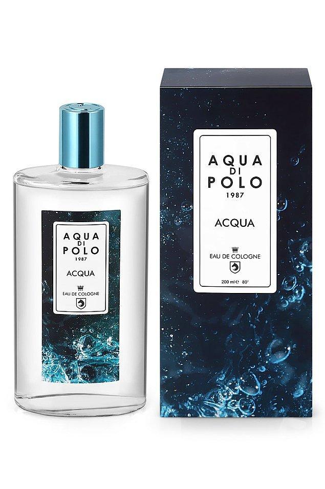 18. Aqua Di Polo'nun özel seri kolonyası, uygun fiyatlı bir koku arayanlar için güzel bir tercih...