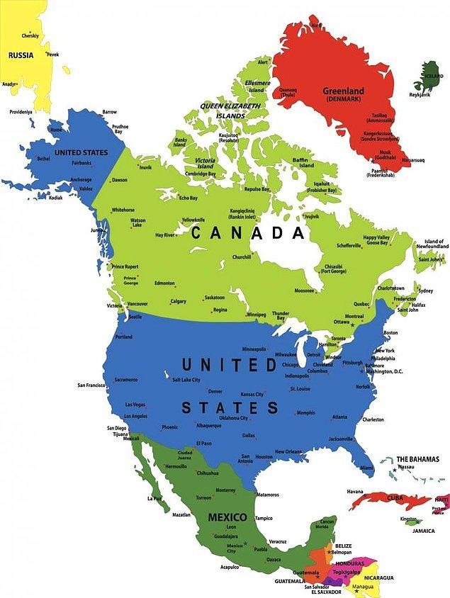 Senin kökenin Kuzey Amerika'dan geliyor!