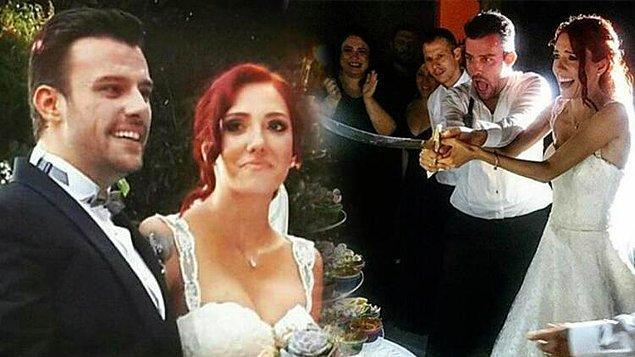 Aşklarını 2015 yılında çok eğlenceli bir düğün yaparak taçlandırmışlardı.