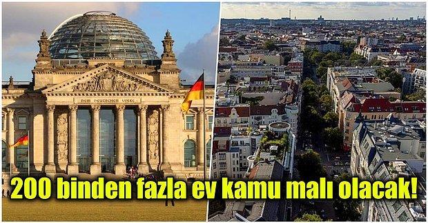 Yüksek Kiralardan Şikayetçi Olan Almanya Halkı Berlin'deki Dairelerin Kamu Malı Olması İçin Referanduma Gitti!