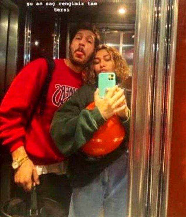 7. Uraz Kaygılaroğlu'nun Ceren Kaçıkoç ile fotoğraf paylaşması ilişki iddialarını ortaya çıkardı!