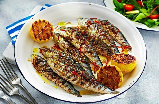 1. Izgarada pişmiş çıtır çıtır balıkları yememek olmazdı!