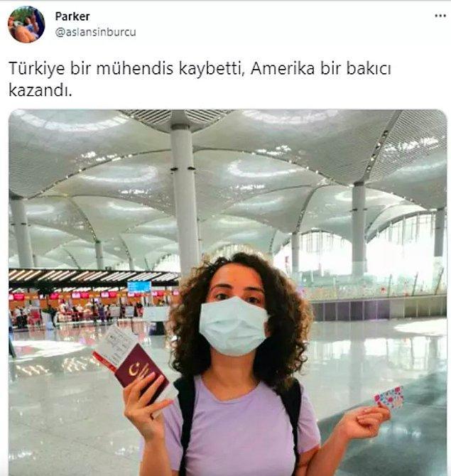 Türkiye böylesine bir kaos ortamı yaşarken insanlar da çareyi bu ülkeyi terk etmekte buluyor. Hatırlarsınız belki bu yaz hayallerinin peşine düşen gençlerimiz tek tek yurt dışına gitmişti. Hem içimiz buruktu hem de onlar için sevinmiştik.