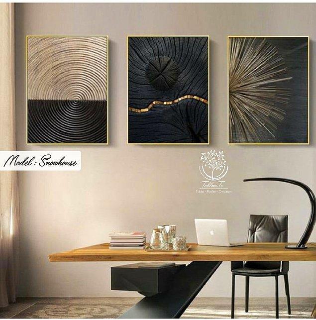 5. Evinize sanatsal bir parça almak isterseniz bu tabloya bir bakın.