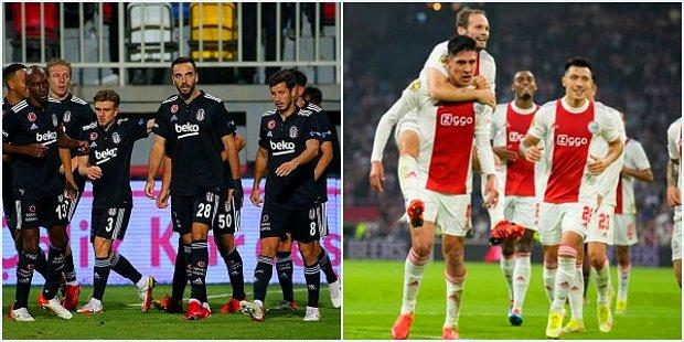 11 Eksikli Beşiktaş, Şampiyonlar Ligi'ndeki İkinci Maçında Ajax'a Konuk Oluyor