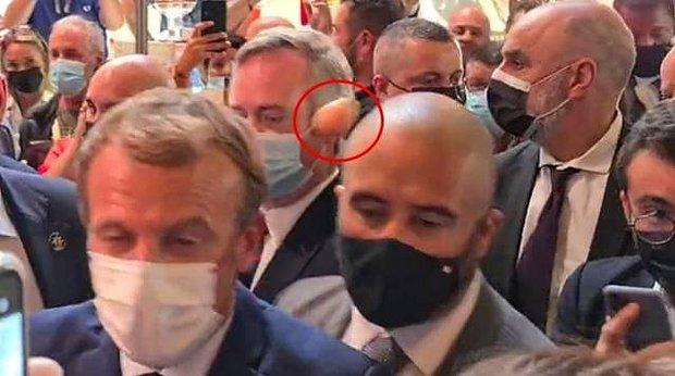 Fransa Cumhurbaşkanı Macron'a Yumurta Atan 19 Yaşındaki Öğrenci Akıl Hastanesine Kaldırıldı