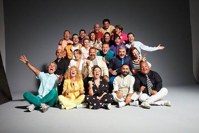 Güldür Güldür Show Yeni Sezon Kadrosu