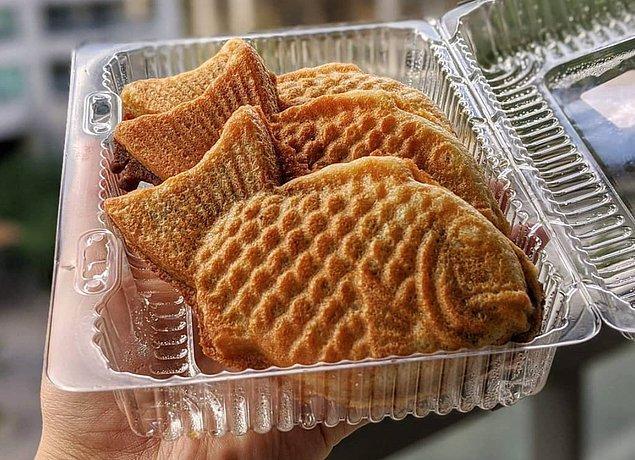 Bungeoppang (Balık şekilli ekmek)