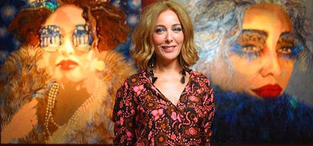 Aqua Art Miami'ye katılan tek Türk sanatçı olarak da ülkemizi gururlandırmış.❤️