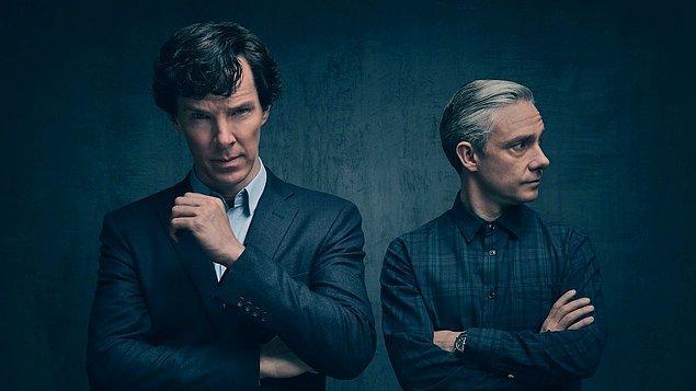 2. Sherlock - IMDb: 9.1