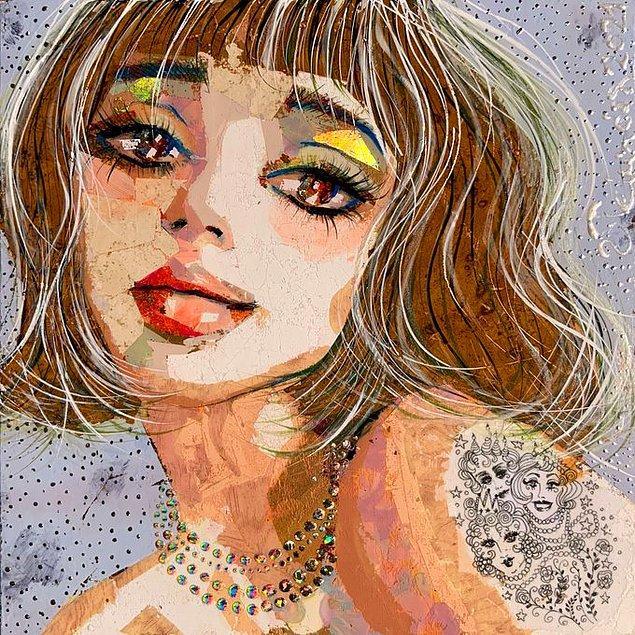 Luciana Toussaint'ın Portresi, 2021