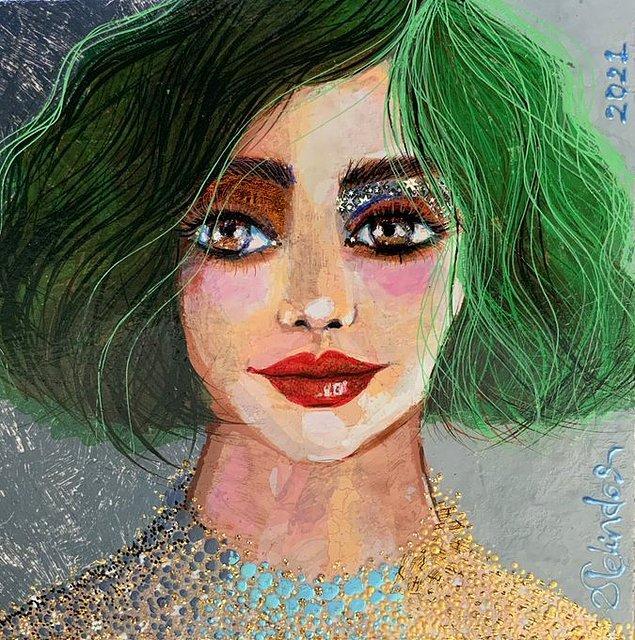 Mireia Estrada'nın Portresi, 2021