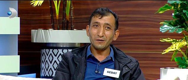 2010 yılında kaçarak evlenen ve 2 çocukları olan Sedat, Ece Üner ile Susma programına şaşırtan bir iddiayla katıldı. Sedat, eşi Nesrin'in abisinin oğlu Murat'la yani yeğeniyle kendisini aldattığını söyledi.