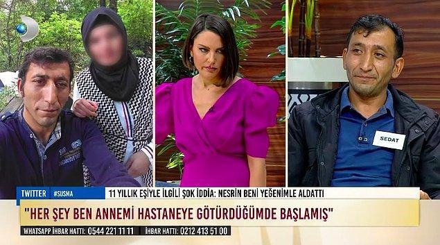 Bir süre Murat, izne çıktığı haftalarda hep Sedat'ın evine gelmiş ve eşi Nesrin'le aralarında yakınlaşma başlamış. Murat, Nesrin'in numarasını almış ve cezaevinde de konuşmaya devam etmişler.