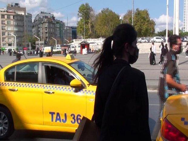 Taksim'deki Taksici Bu Sefer Şaşırttı: 'Gideceğin Yer Çok Uzak, Alamam'