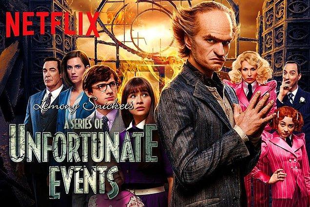 11. A Series of Unfortunate Events - IMDb 7.8