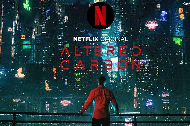 10. Altered Carbon - IMDb: 8.0