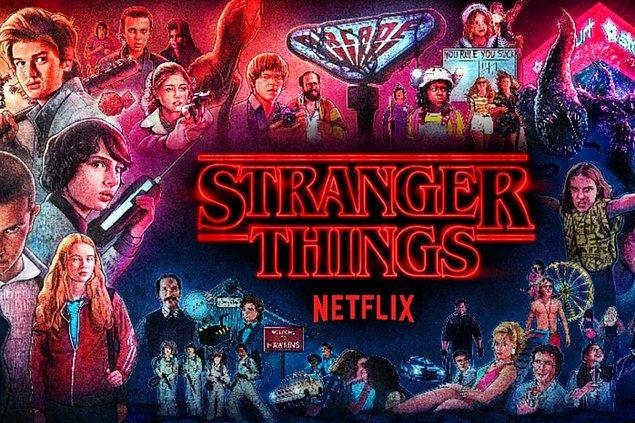 4. Stranger Things - IMDb: 8.7