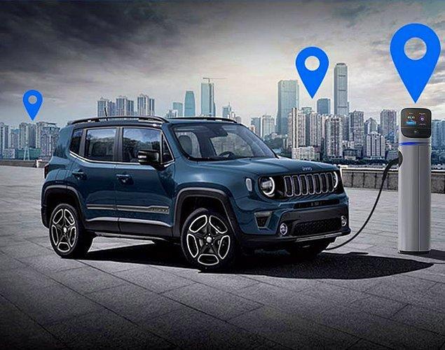 Tam bir yakıt cimrisi olan Jeep Renegade, 100 km'de 2.1 yakıt tüketimine sahip.