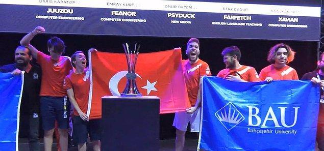 Üniversiteler arası League of Legends Şampiyonu Bahçeşehir Üniversitesi!