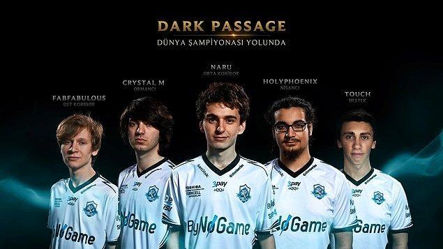 2014 Wild Card şampiyonu Dark Passage!