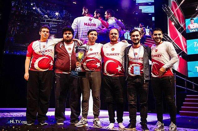 CS:GO Türkiye Milli Takımı 2016 Dünya Şampiyonu olmuştu.