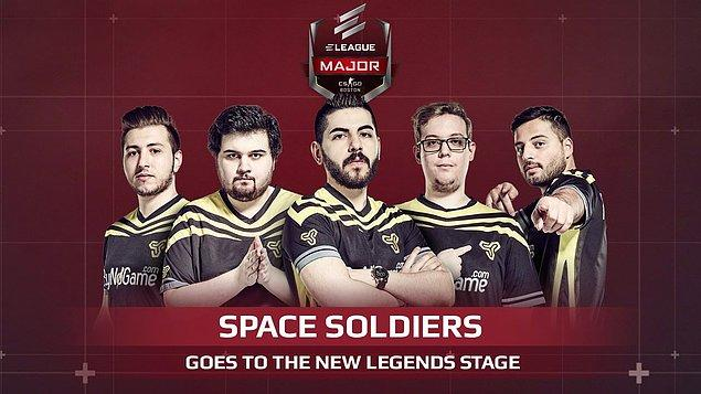 İlk defa Major'e katılan Türk takımı Space Soldiers