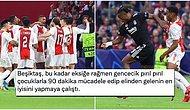 11 Eksikli Beşiktaş, Şampiyonlar Ligi'ndeki İkinci Maçında Ajax'a 2-0 Yenildi