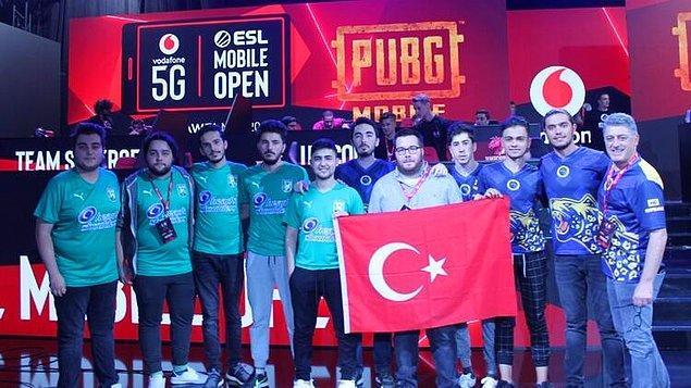 ESL Open Vodafone 5G PUBG Mobile ve PUBG Mobile World League Batı Finalleri şampiyonu FUTBOLIST