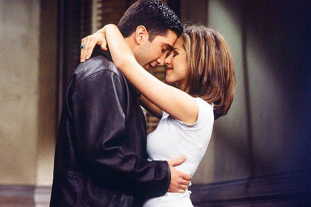 2. Ross - Rachel (Friends)