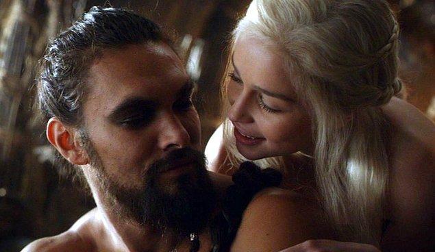 7. Khal Drogo - Khaleesi (Game of Thrones)