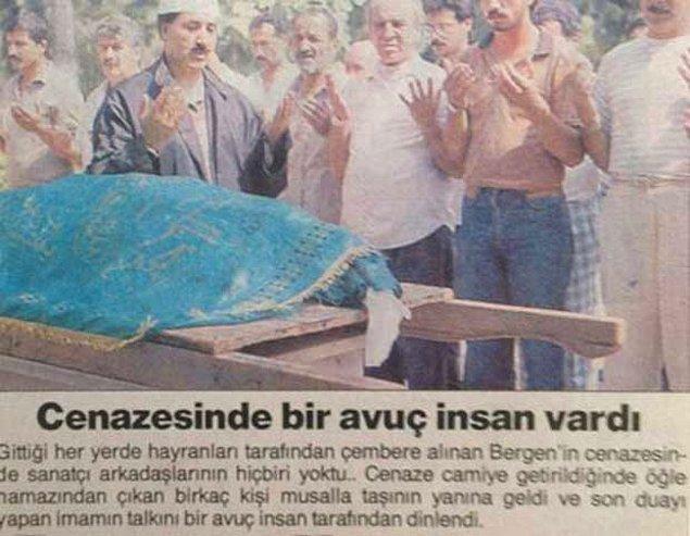 Bergen hasta ve cani bir adam tarafından işte bu şekilde katledildi. İnsanlar korkudan cenazesine bile katılamadılar.