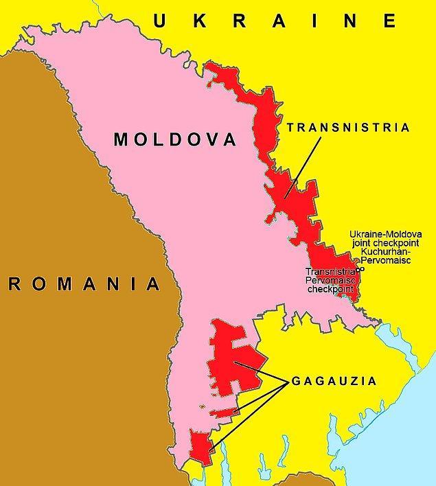 90'ların başında kurulan bu de facto devlet, bugün Moldova sınırları içerisinde yer alıyor ve Birleşmiş Milletler tarafından Moldova'nın bir parçası olarak görülüyor.